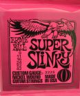 Ernie Ball Super Slinky Nickel Wound Set  9 - 42    2223
